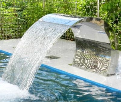 pool rostfritt stål