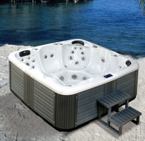 Pool jacuzzi 2200x2200x940mm kapacitet 1550L