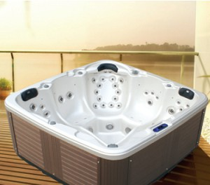 Pool jacuzzi 2200x2200x940mm kapacitet 1500L