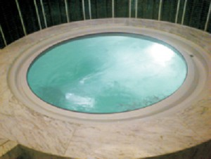 Pool jacuzzi 1900x1900x950mm kapacitet 1550L