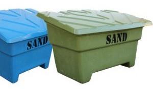 låda för sandningssand